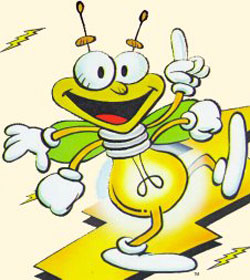 Louie The Lightning Bug Coloring Pages